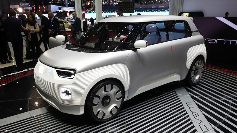 Fiat Centoventi на Женевский автосалон 2019: главные премьеры