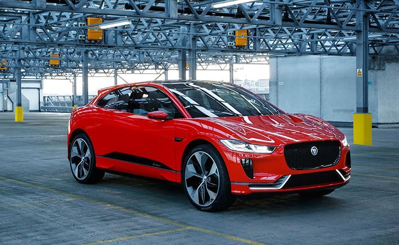 Jaguar I-Pace — европейский «Автомобиль года»