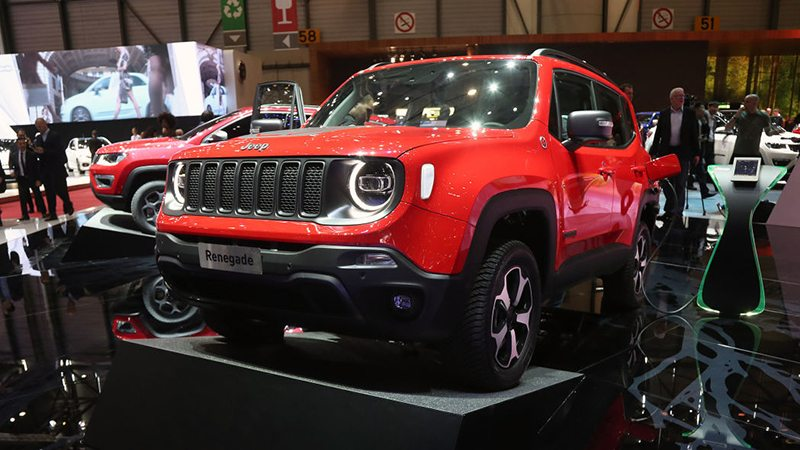 Jeep Renagade PHEV на Женевский автосалон 2019: главные премьеры