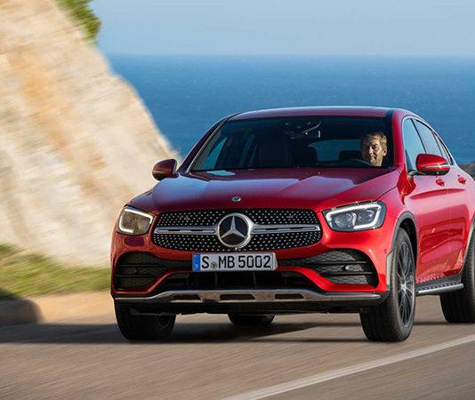 Mercedes-Benz GLC Coupe обновился и поумнел