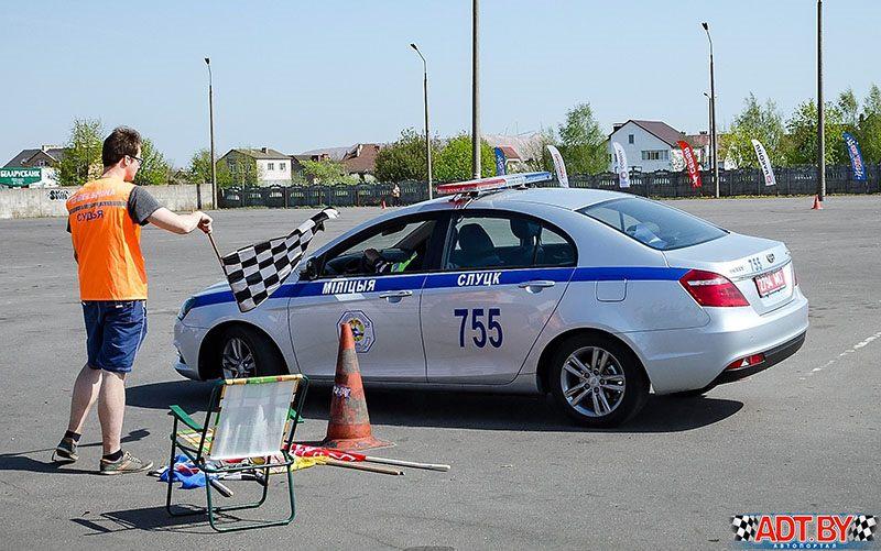 Gymkhana в Солигорске в исполнении виртуозов руля