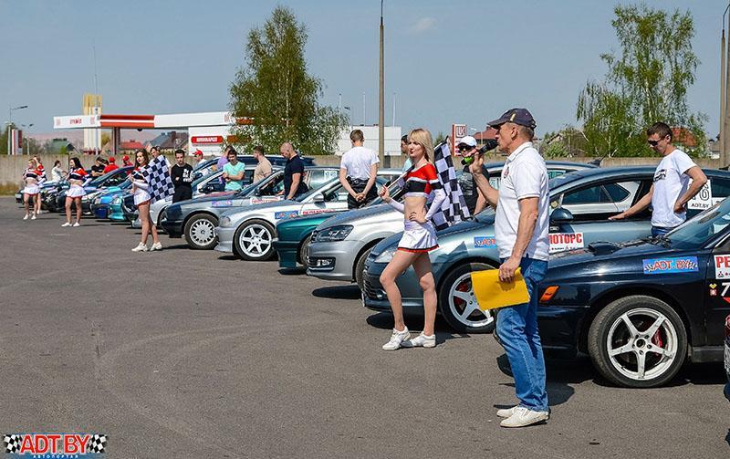 Кубок Виртуозов руля в Солигорске по джимхане
