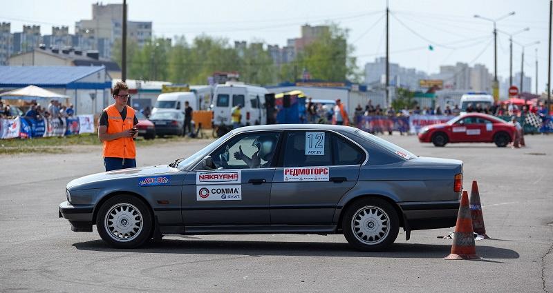 Кубок Виртуозов руля по джимхане в Солигорске