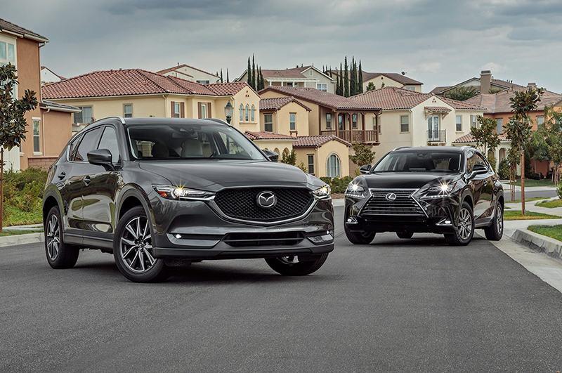 Mazda CX-5 и Lexus NX