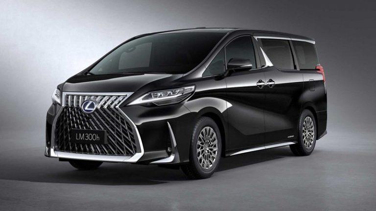 Lexus представил в Шанхае первый в своей истории минивэн — LM