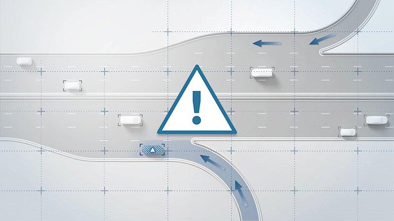 Система предупреждения Bosch убережёт людей от опасности на дороге