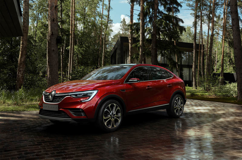 Renault Arkana получит «мерседесовский» двигатель