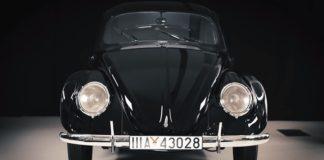 В Германии восстановлен уникальный Volkswagen Beetle