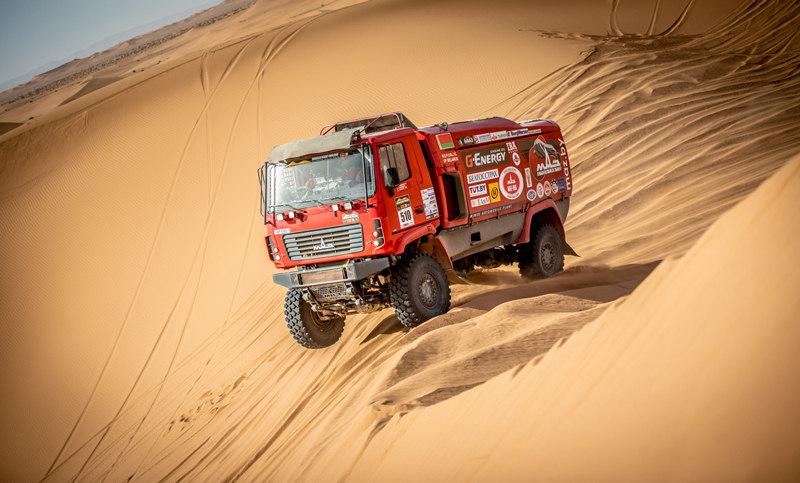 Алексей Вишневский, пятый этап ралли-рейда Morocco Desert Challenge