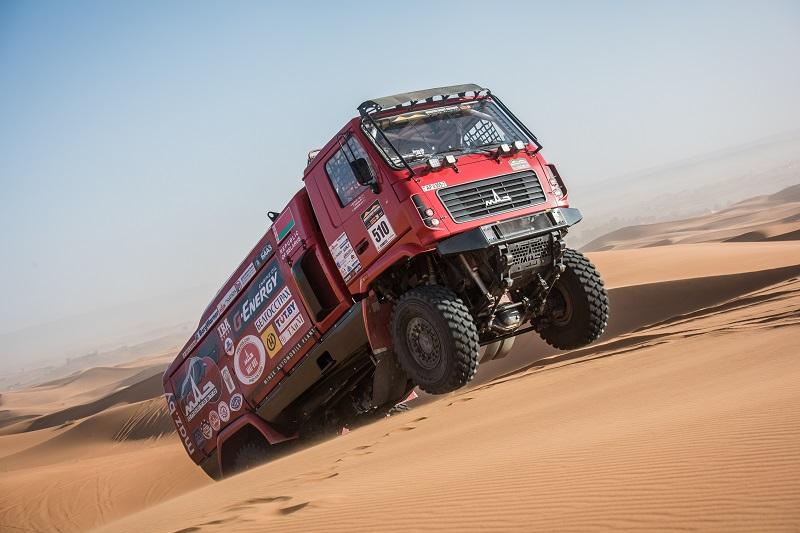 Алексей Вишневский - призер ралли-рейда Morocco Desert Challenge