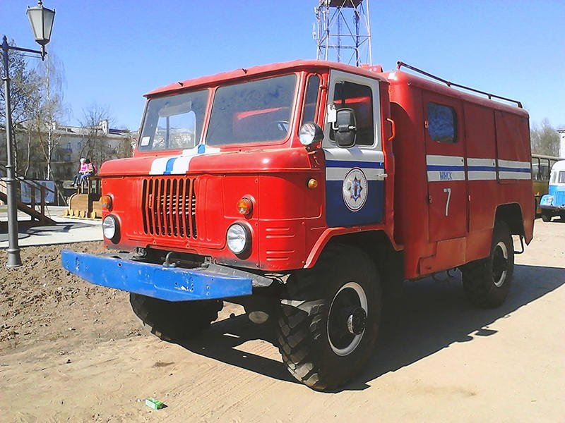Автомобиль связи и освещения АСО-12(66)-90A