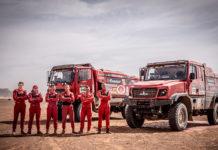 """Экипажи """"МАЗ-СПОРТавто"""" заняли первые места на 6 этапе в Марокко"""