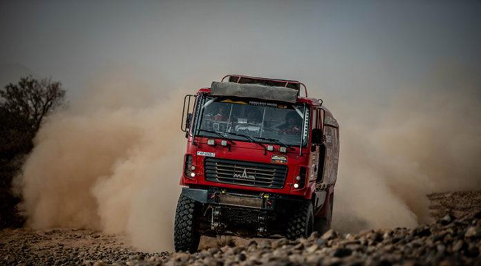 Экипаж «МАЗ-СПОРТавто» на этапе Morocco Desert Challenge