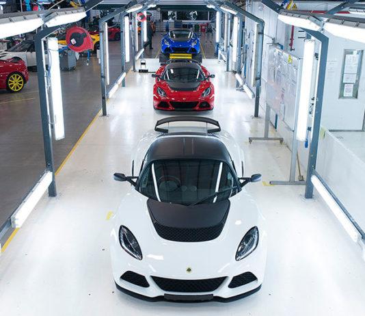 Geely наладит выпуск моделей Lotus в Китае