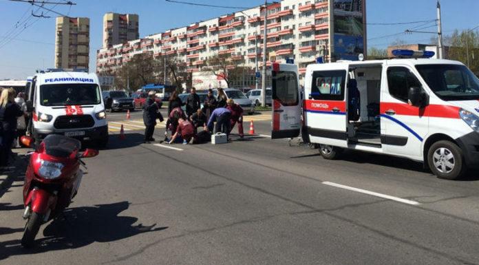 В Бресте на пешеходном переходе автомобиль въехал в людей