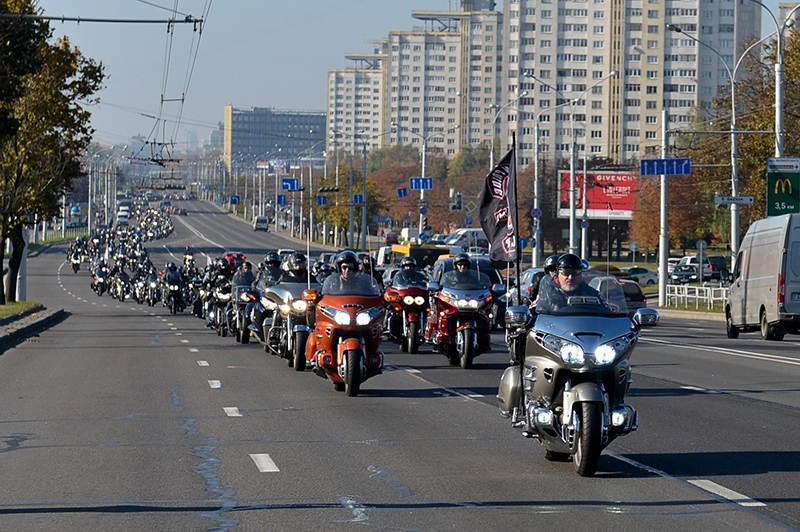 Официальное открытие мотосезона в Минске