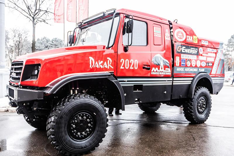 Команда «МАЗ-СПОРТавто» впервые поедет на гонку в Африке