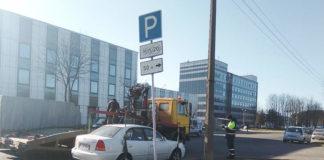 ГАИ Партизанского района провела эвакуацию транспортных средств