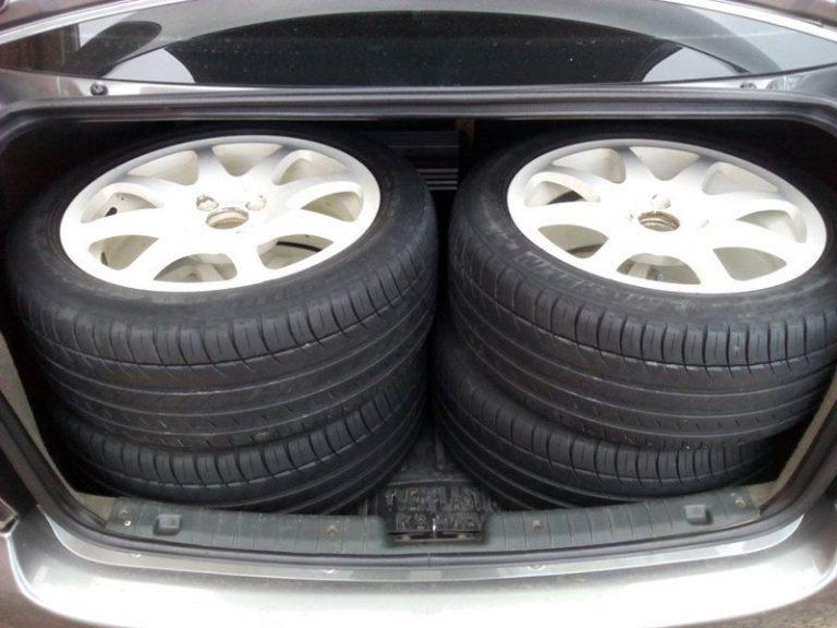 Перемещение через границу шин и колес для авто