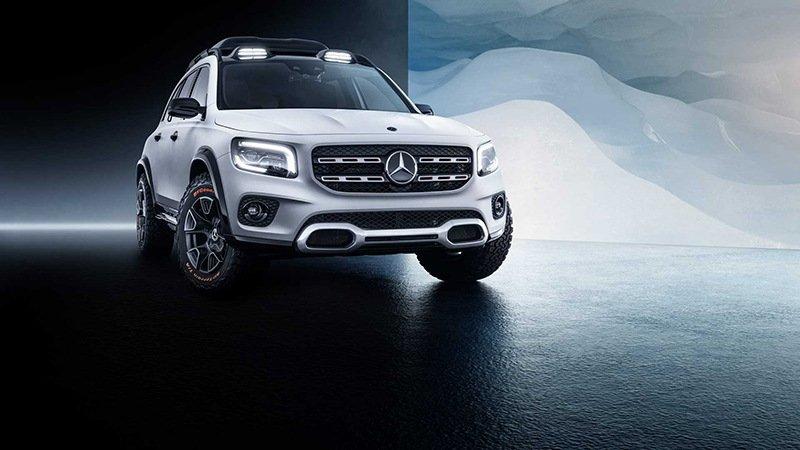Mercedes-Benz GLB возродил дух GLK