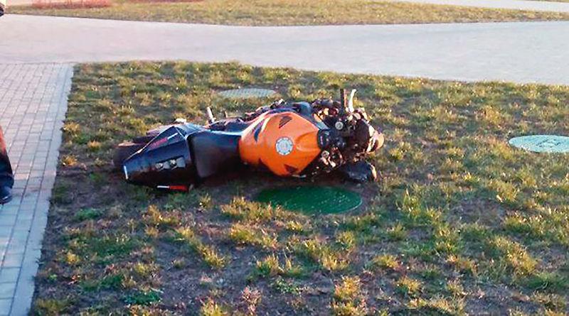 мотоциклист пытался скрыться от ГАИ