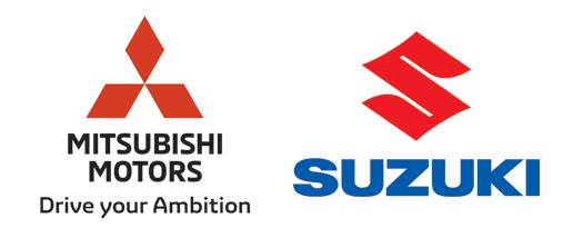 Mitsubishi и Suzuki