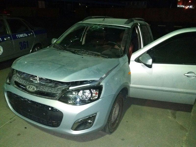 Нетрезвый житель Гомеля угнал автомобиль из ремонта