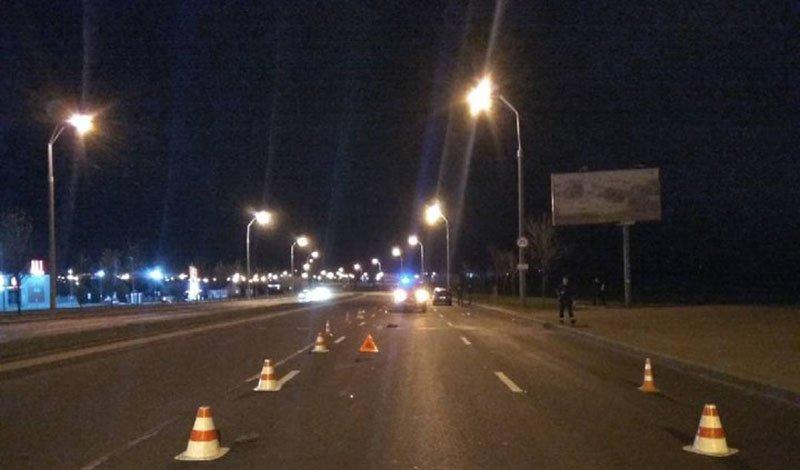 На пешехода в Минске совершен двойной наезд. Разыскиваются очевидцы.
