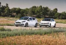 Сравнительный тест автомобилейFord Fiesta ST и Volkswagen Polo GTI
