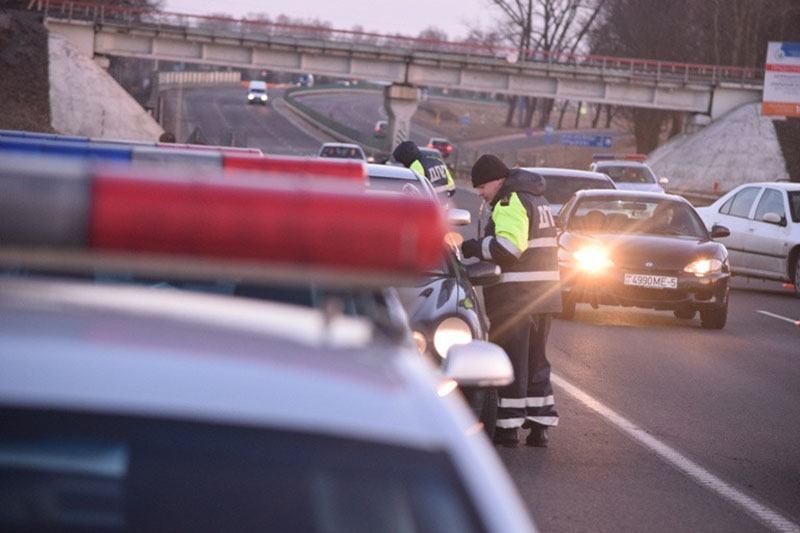 ГАИ Минска проведет усиленные отработки улиц