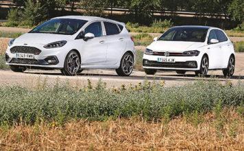 Ford Fiesta ST и Volkswagen Polo GTI