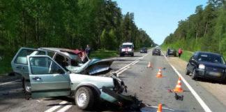 Мотоциклист и водитель авто погибли в ДТП в Быховском районе