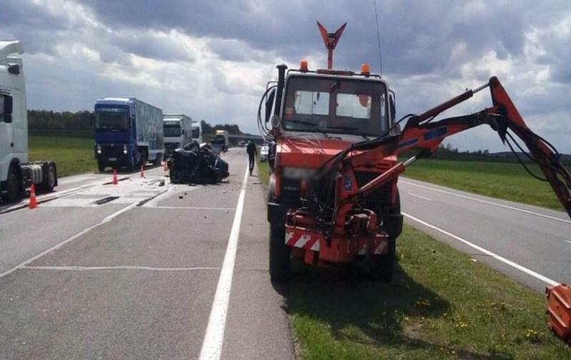 В Ивацевичском районе в ДТП погиб водитель