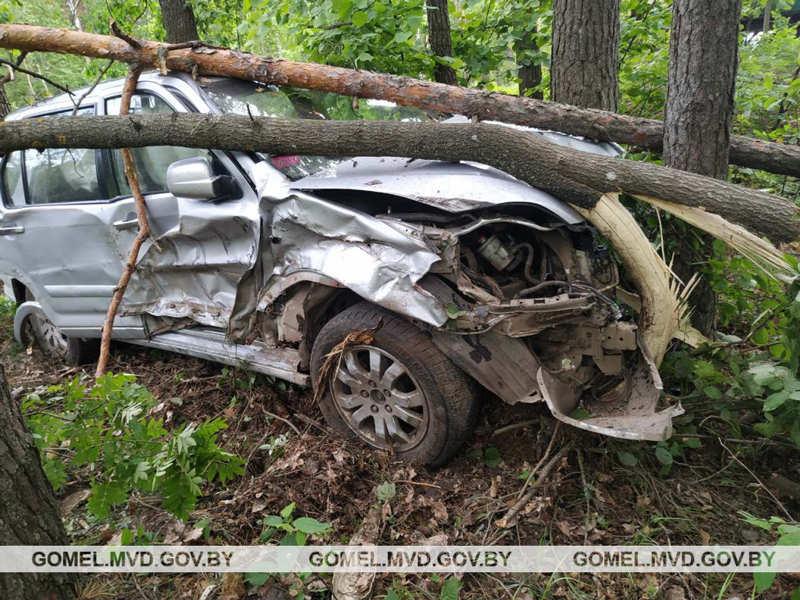 В Речицком районе нарушение правил обгона стало причиной ДТП
