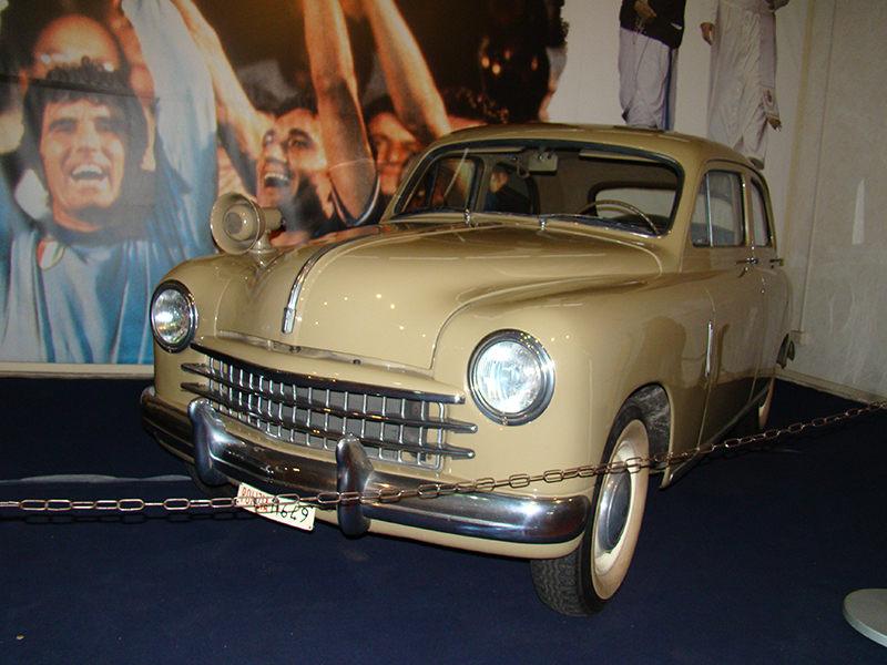 Fiat 1400 Исторический музей автомобилей Государственной полиции Рима