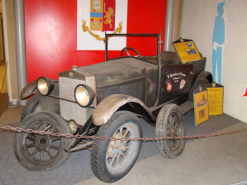 Исторический музей автомобилей Государственной полиции Рима