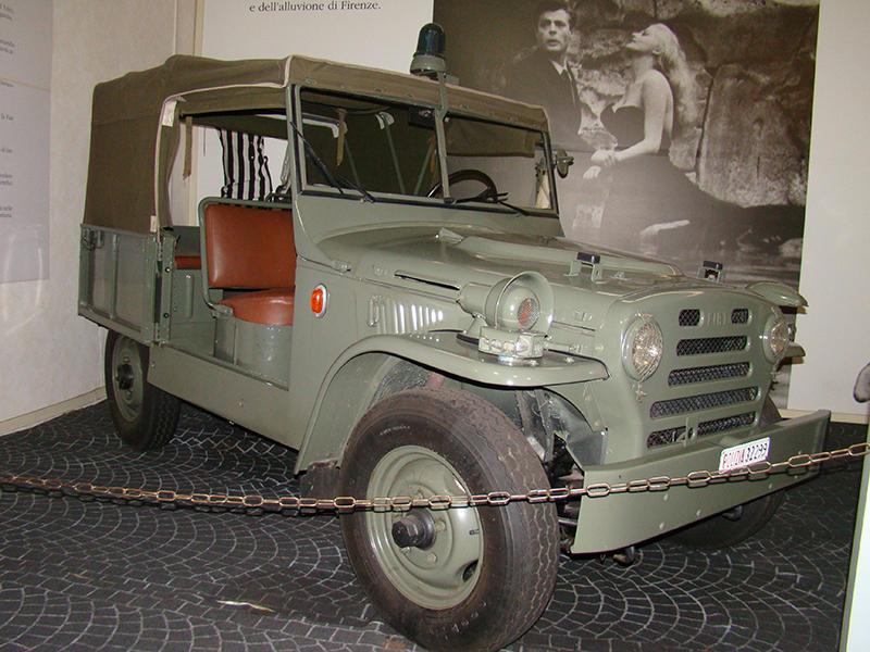 Fiat Compagnola Исторический музей автомобилей Государственной полиции Рима