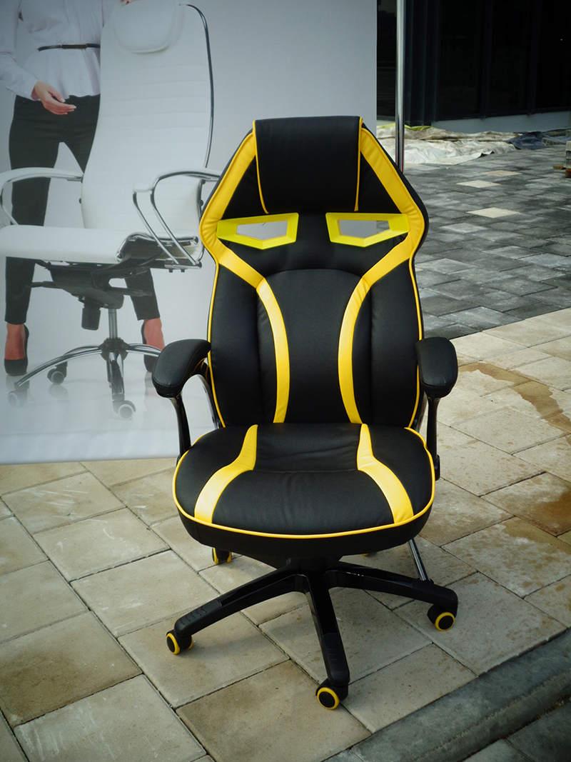 Один из призов - офисное кресло