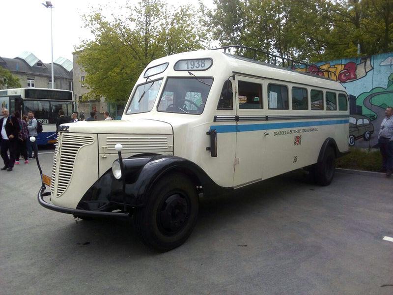 Автобус фирмы Krupp