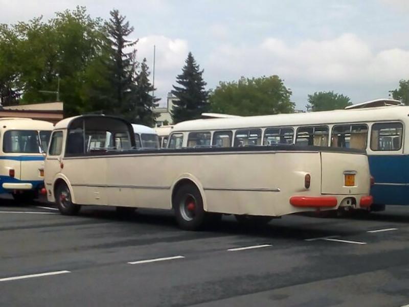 Автобус Jelcz с открытым кузовом
