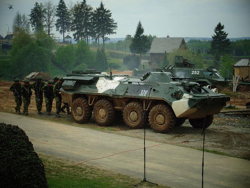 БТР-70-БМ 1