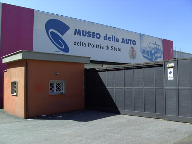 Главный автомобильный музей Рима