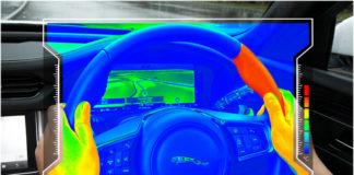 Jaguar Land Rover представляет сенсорное рулевое колесо
