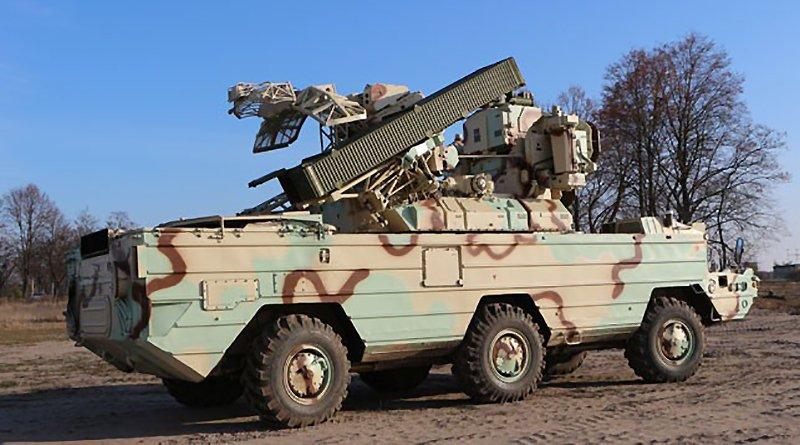 Модернизированная боевая машина 9А33-2Б