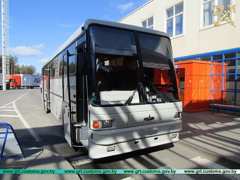 В регионе деятельности Гродненской таможни значительно вырос автобусный поток