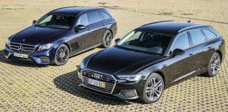 Audi A6 Avant и Mercedes-Benz E Station