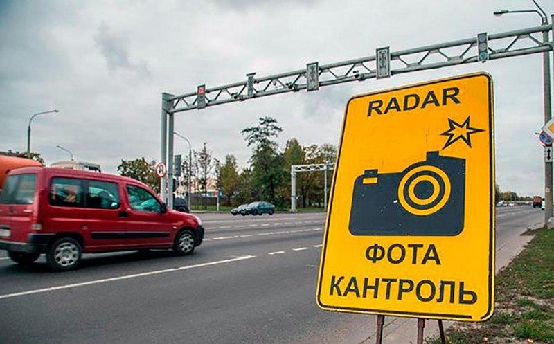 Места размещения датчиков контроля скорости в Минской области в мае