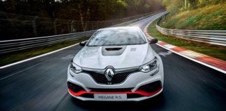 Renault Megane RS Trophy-R стал самым быстрым хэтчбеком Нюрбургринга