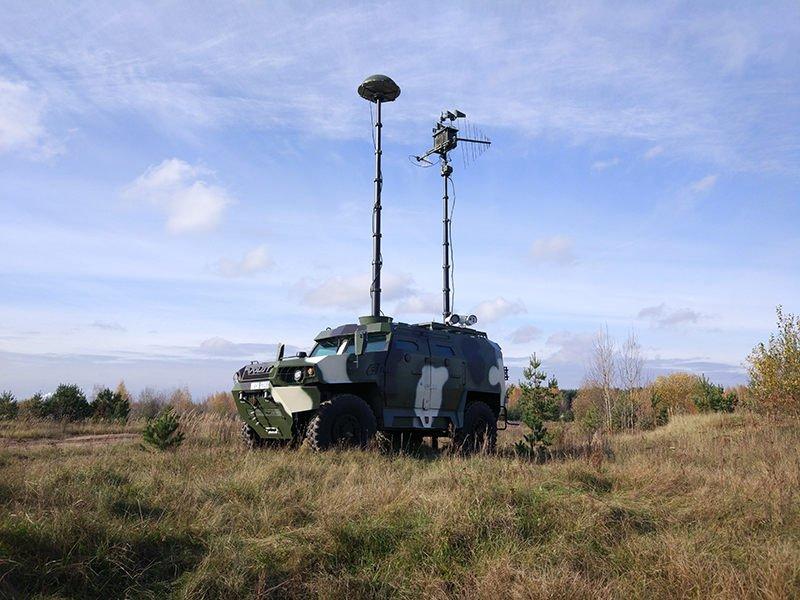 Система радиоэлектронной борьбы с БЛА семейства «Гроза»
