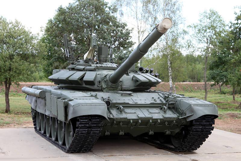 Россия модернизирует для Беларуси партию танков Т-72